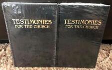 Ellen G White Duo: Testimonies for the Church Volumes 6 & 7 Black HB New Sealed