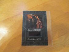 Game of Thrones Inflexions Relic Costume Card VR8 Cersei Lannister's Dress