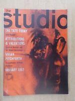 THE STUDIO VINTAGE ART & DESIGN MAGAZINE JANUARY 1962 - VIVIAN PITCHFORD