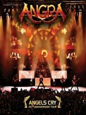 Angra: Angels Cry 20th Anniversary Tour DVD ( FREE SHIPPING)