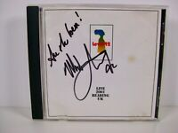 Level 42 CD Album: LIVE 2001 Reading UK - MARK KING Signed Autograph Front Cover