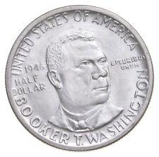 1946 Booker T. Washington Commemorative Half Dollar Walker Coin Collection *634