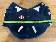 New listing Small Dog Baseball Sweater