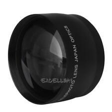 2X 52mm High Speed Telephoto Lens for AF-S DX Nikkor 18-55mm Nikon  E0Xc