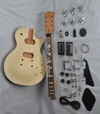 LP parts:DIY LP Guitars Mahogany Body Unfinished Electric Guitar Kit
