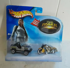 2003 HOT WHEELS LARA CROFT TOMB RAIDER THE CRADIE OF LIFE SET SEALED