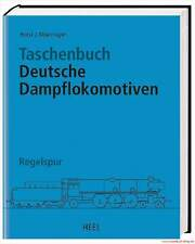 Fachbuch Taschenbuch Deutsche Dampflokomotiven, Regelspur, STANDARDWERK NEU