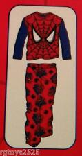 Marvel  Spiderman 6 7 SMALL Flannel Sleepwear boys Pajamas Set NEW