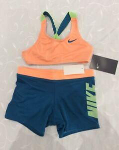 Nike Girl's Swimming Crossback & Shorts Set (6 Years)