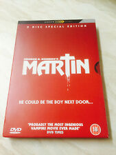 Martin (DVD, 2006, 2-Disc Special Edition) George A. Romero