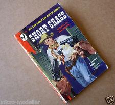 Short Grass. 1948 Vintage Old Rare Bantam Cowboy Western Paperback