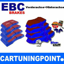 EBC PASTILLAS FRENO delant. + eje trasero BlueStuff para SEAT IBIZA 2 6k