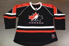 Team Canada Black Olympic Hockey Jersey - Youth Small