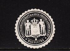 402624/ Siegelmarke - Staatsanwaltschaft - Landgericht - MAGDEBURG