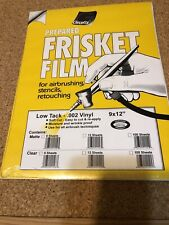 Grafix Prepared  Frisket Film .002 vinyl. Unsure Whether Its Matte Or Clear.