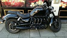 TRIUMPH ROCKET 3 ROADSTER BLACK OUTLAW SYSTEM