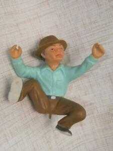 Vintage 1978 Wilton Cake Topper # 2113-2384 Frustrated Fisherman MAN Only-CLEAN