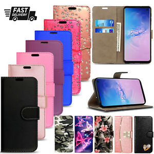 For Samsung Galaxy S8 S9 S20 S10 Plus S7 S21 Case Cover Leather Wallet Phone
