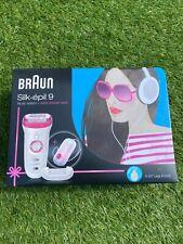 Braun Silk Epil 9 (Music Edition) Epilierer + Duschradio / Top