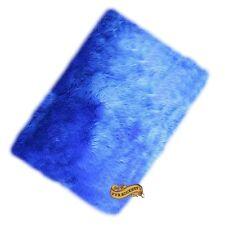 Faux Fur Accent Rug, Area Rug, Royal Blue, Shag Carpet, 5' x 7' FUR ACCENTS