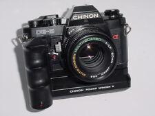 CHINON CE-5 35 mm Pellicola SLR Fotocamera manuale con CHINON 50 mm F/1.7 Lens + MOTOR DRIVE