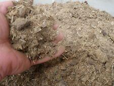 Aged Composted Horse Manure Mushroom Medium Substrate Fertilizer