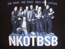 New Kids on The Block Backstreet Boys NKOTBSB Pop Dance Music Boy Band T Shirt L