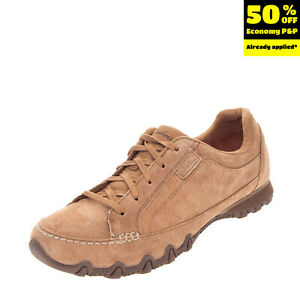 RRP €115 SKECHERS Suede Leather Sneakers Size 40 UK 7 US 10 Memory Foam Lace Up