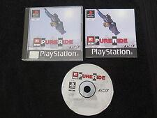 PS1 : MTV SPORTS : PURE RIDE - Completo ! Compatibile PS2 e PS3