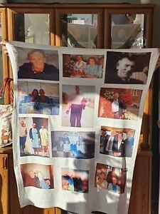 Personalised Photo Memory Memorial Blanket