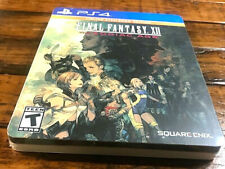 💥Rare Factory Sealed💥 Final Fantasy Xii12 Zodiac Age Steelbook Edition Ps4