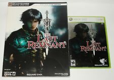 THE LAST REMNANT Xbox 360 Game & Signature Series Bradygames Strategy Guide