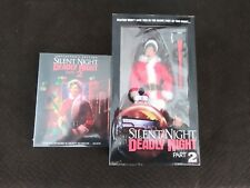 -SEALED-Silent Night, Deadly Night Part 2 Blu Ray + Neca Figure