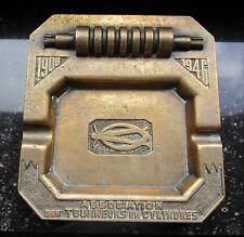 o cendrier 1946 tourneur tournage cylindre laiton bronze entreprise laminoir