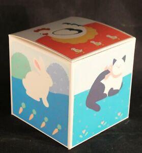 "Six (6) NEW 1985 Hallmark 4"" X 4"" X 4"" Different Animal Gift Boxes"