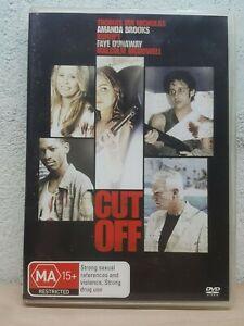 Cut Off (DVD, 2006) Malcolm McDowell, Richard Edson, Clint Howard, Faye Dunaway