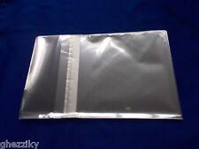 100 4 5/8 x 5 3/4 Clear (A2+) Card Resealable Poly Cello Bag Cellophane Bag/seal