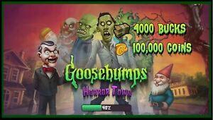 Goosebumps Horrortown Game Bucks Coins Android iOS