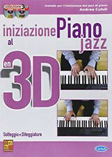 Iniziazione al Piano Jazz in 3DVery Good