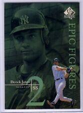 1999 SP Authentic Epic Figures #E18 Derek Jeter - Yankees