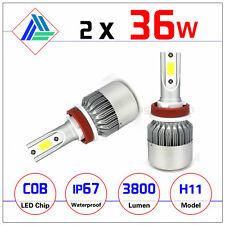 LED Headlight Kit C6 H11 Envio gratuito
