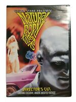 Oliver Stone's Natural Born Killers DVD Director's Cut Woody Harrelson NEW/SEAL