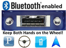 Bluetooth Enabled 1964-1966 GMC Truck 300 watt AM FM Stereo Radio iPod, USB