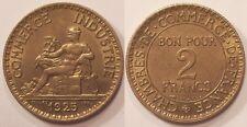 2 Francs Chambre de commerce 1925, SUP !!