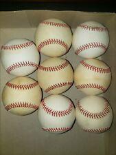 Lot of Seven National Leonard Coleman Rawlings Official Major League Baseballs
