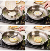 Stainless Steel Fried Eggs Device Cooking Fried Egg Pancake Ring Mold Shaper