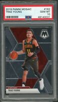 Trae Young Atlanta Hawks 2019 Panini Mosaic Basketball Card #182 Graded PSA 10