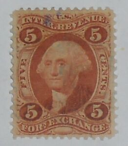 R26c US Revenue Stamp Foreign Exchange 1st Issue Used