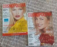Cosmopolitan magazines - Vintage - 2 editions - October and December 1996