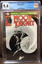 Moon Knight #15  CGC 9.4  White pages 1st Direct Sales RARE